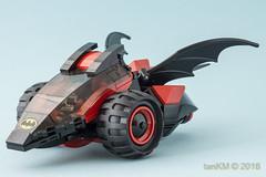 tkm-SpeeBatz-01 (tankm) Tags: lego moc batman speedorz vehicle 3 wheels