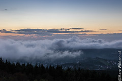 Auf dem Feldberg / On the Feldberg - Hessen - Germany (Marc Wildenhof) Tags: clouds groserfeldberg feldberg sonnenuntergang taunus hessen germany deutschland canoneos7dmarkii sigma35mm14art