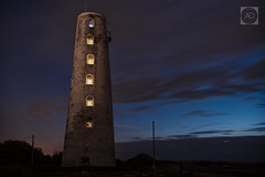 The night guide (alun.disley@ntlworld.com) Tags: leasowelighthouse lighthouses night longexposure landscape nightsky stars clouds weather bluehour wirral merseyside uk architecture buldings nature trees leasowecommon