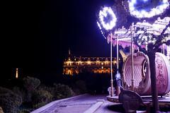 Biarritz - Carrousel (Estl C.) Tags: biarritz nuit lumire carrousel phare night lights pays basque lighthouse hotel du palais