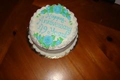 Parent's Anniversary Cake - 49 years (sheriffdan10) Tags: cake anniversary dessert