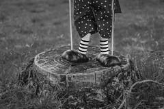 Steps puppet (pelpis) Tags: blackandwhite bw details scene detail detalle abstraxt inmaginacion toys