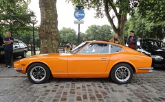 1970 DATSUN 240Z (shagracer) Tags: avenue drivers club adc ttu563h queen square bristol classic car meet breakfast