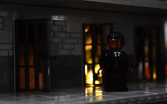 The Wall (Andrew Cookston) Tags: lego dc comics dccomics amandawaller thewall taskforcex suicidesquad prison bellereve photoshop custom minifig stilllife toy macro photography andrewcookston
