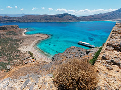 Gramvousa (Petr Horak) Tags: family holiday 2016 exterior europe greece crete sea shore landscape boat water gramvousa grc