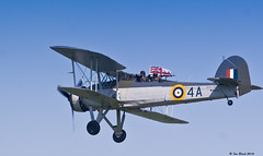 Goodbye! (ianhb) Tags: royalnavy shuttleworth airshow aircraft veteran fairey swordfish