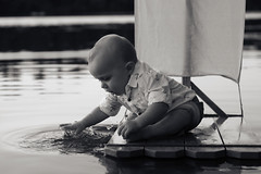 IMG_9953* v2 (brian.laughman) Tags: sail float boat boy adorable cute splash 10months water raft baby