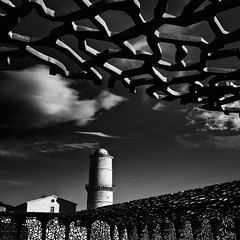 postcards-from-Marseille-#4 (Katerina Atha) Tags: marseille mucem monochrome architecture tradition innovation light dark square