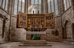 Altar (sirona27) Tags: altar schnitzaltar gotisch kirche liebfrauenkirche arnstadt thringen kreuz jesus fenster bauwerk hdr