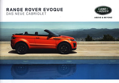 Land Rover Range Rover Evoque Cabriolet, das neue; 2015_1 (World Travel Library) Tags: land rover range evoque cabriolet 2015 red car brochures sales literature world travel library center worldtravellib auto automobil papers prospekt catalogue katalog vehicle transport wheels makes models model automobile automotive motor motoring drive wagen photos photo photograph picture image collectible collectors ads fahrzeug automobiles english cars   worldcars ride go by frontcover documents dokument   broschyr  esite   catlogo folheto folleto   ti liu bror