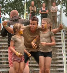 we did it! (stevefge) Tags: strongviking vikings run event sport people candid girls kids kinderen children mother mud nederlandvandaag reflectyourworld