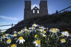 The flowers of mourning, Reculver (Sean Hartwell Photography) Tags: flower flowers reculver kent england stmarys ruin church ruins religion uk canoneosm3 1122mm