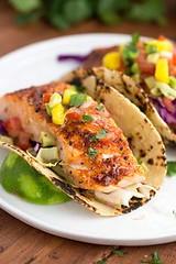 Maple Chipotle Salmo (alaridesign) Tags: maple chipotle salmon tacos with mango salsa