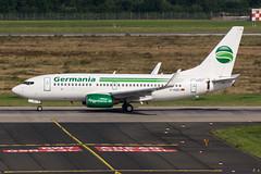 D-AGEU - Germania - Boeing 737-700 (5B-DUS) Tags: dageu germania boeing 737700 b737 737 dus eddl dusseldorf dsseldorf international airplane airport aircraft aviation flughafen flugzeug plane planespotting spotting