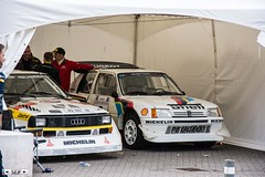 Audi Sport Quattro S1 + Peugeot 205 Turbo 16 Evo 2. Glasgow 2016 (seifracing) Tags: audi sport quattro s1 peugeot 205 turbo 16 evo 2 glasgow 2016 seifracing spotting strathclyde security show station cars vehicles polizei polizia recovery research transport traffic britain brigade british nhs