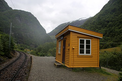 Blomheller Station (JonCombe) Tags: flam norway