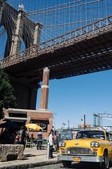 2927 Taxi (JoelZimmer) Tags: 35mmf2d brooklyn brooklynbridge brooklynbridgepark dumbo manhattanbridge newyork nikond750 unitedstates