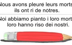 In risposta alla vignetta di Charlie Hebdo (SatiraItalia) Tags: satira charlie hebdo terremoto