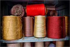 6. Masson Mills, Yorkshire DSCF1381 (janet.oxenham10) Tags: massonmills industrial urban yorkshire factory past bobbins threads