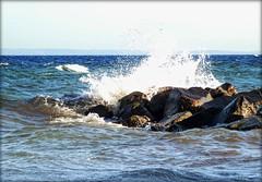 splash.ocean.spray #001 (C.Kalk DigitaLPhotoS) Tags: ocean ostsee balticsea baltic welle wave brandung surge seaspray spray felsen rock grmitz germany meer