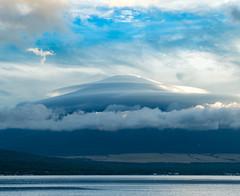 Fuji and clouds (shinichiro*) Tags: 南都留郡 山梨県 日本 jp 20160829ds38635 2016 crazyshin nikond4s afsnikkor2470mmf28ged yamanashi japan lakeyamanaka 山中湖村 平野 29746489262 846406 201704gettyuploadesp