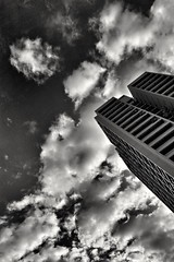 2016-09-25_10-50-45 (jumppoint5) Tags: blackandwhite hdb estate block building urban clouds perspective shadow light city