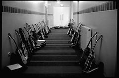 Guitars - SMMC 2016 Annual Concert - Dunedin Town Hall (Michael McQueen) Tags: 100daysnz 100daysproject yashicaelectro35gtn trix400 dunedin