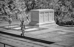 P8060075 - Tomb of the Unknowns (Syed HJ) Tags: olympusomdem5 olympusem5 olympus em5 olympusmzuiko olympusmzuikodigitaled1240mmf28pro olympusmzuiko1240mmf28pro olympus1240mmf28pro olympus1240mmf28 olympus1240mm 1240mm arlingtonnationalcemeteryarlingtonva arlingtonnationalcemetery arlingtonva cemetery arlington va tomboftheunknowns blackwhite blackandwhite bw 950nm infrared ir