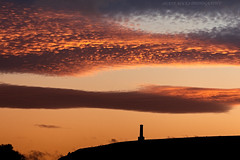 Home (Celebrating over 2 million views. Thank you) Tags: home ramsbottom peeltower sunset mackerel sky orange glow peelers policemen lancashire local view landscape nature