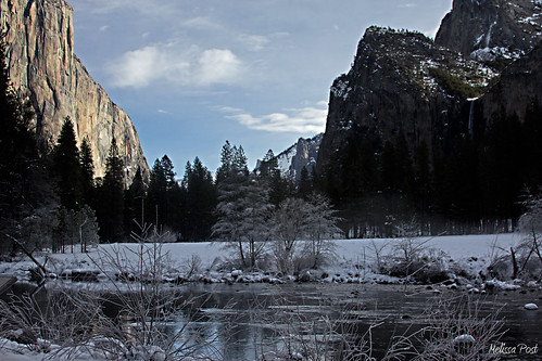 Yosemite Valley with Frost