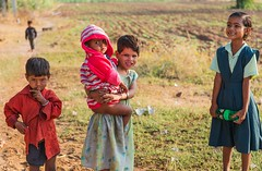 children of the fields (Dean Forbes) Tags: india field children village rajasthan