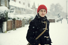 . (LauraKiora) Tags: snow cold london james january canon5d hernehill
