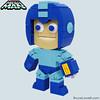 "LEGO Mega Man Figure (Side) • <a style=""font-size:0.8em;"" href=""http://www.flickr.com/photos/44124306864@N01/8417557677/"" target=""_blank"">View on Flickr</a>"