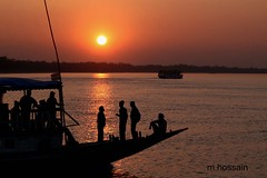 sunset in Sundarbon. (manwar2010) Tags: sundarbans mygearandme mygearandmepremium