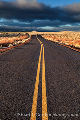 Road To Nowhere II (chasingthelight10) Tags: winter sky snow mountains nature oregon centraloregon dawn landscapes seasons events places hills highdesert vistas sunrises pinemountain thebadlands otherkeywords oregonbadlands