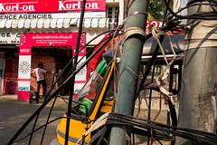 L1006549 (Ed Peters 286) Tags: india wires mattress cochin clutter kochi