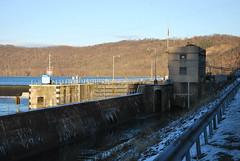 Allegheny River Lock & Dam #8 (Bitmapped) Tags: usa unitedstates pennsylvania rivers mississippiriver templeton ohioriver alleghenyriver armstrongcounty alleghenyriverlockdam8