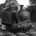 Avon Valley Railway Train - Bitton  - Black & White