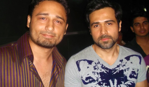 Emraan Hashmi and Jaey Gajera At First Look Launch of  Ek Thi Daayan  in Film City  Goregaon  Mumbai  Last Night
