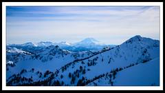Mt.Adams view from Crystal Mountain (Robie..) Tags: seattle travel mountain snow nature landscape washington mt rainier helens 1855 snowlaketrail d5100