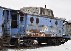 Orrville, Ohio (Bob McGilvray Jr.) Tags: railroad train tracks caboose cr conrail orrvilleohio