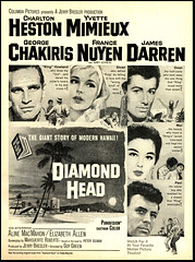 Diamond Head (Harald Haefker) Tags: pictures cinema film promotion vintage magazine ads movie print advertising pub kino publicidad reclame head ad columbia cine romance retro anuncio diamond advertisement corporation nostalgia advert 1960s werbung drama publicit magazin reklame affiche 1963 publicitario cin pubblicit motionpicture charltonheston rclame romanze cinematgrafo celluloide jamesdarren cinoche yvettemimieux francenuyen georgechakiris guygreen pubblicizzazione     knigvonhawaii