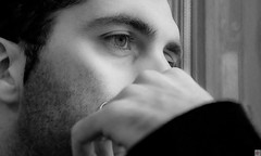 Jrmy-11 (Au Fil Des Caprices (photographer & model)) Tags: portrait bw blackwhite noiretblanc latin brun homme noisette charmant rveur tnbreux romantiquecharme