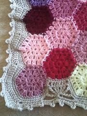 Hexagon Blanket (angelala242) Tags: crochet blanket afghan uploaded:by=flickrmobile flickriosapp:filter=nofilter