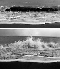 Tutto cosparso del suo bel ondeggo che esso c'ha dentro (Silbhe.) Tags: winter sea bw film beach 50mm nikon mare 14 wave bn 1600 plus epson hp5 pushed nikkor inverno ilford spiaggia f4 marche perfection ais onda pellicola v500 civitanova stirato