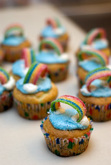 Rainbow Cupcakes! (Daniel.Lam) Tags: light cup cake speed photography 50mm baking rainbow nikon candy daniel flash sb600 cupcake strip 600 nikkor 18 bake speedlight sb lam frosting fifty nifty d80 daniellam rainbowcupcake daniellamphotography
