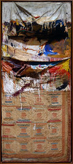 Robert Rauschenberg, Bed (tall view))
