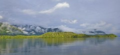 P1000558  Haida Gwaii  2012         6.3k (ChanHawkins) Tags: mountain fishing harbour shoreline 2012 haidagwaii