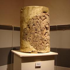 Miliario montilla DSC04818 (Rafael Jiménez) Tags: imperioromano antiguaroma romaantigua aboutiberia arqueologíamontillaarchaelogycórdobaespañaspain