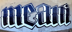 MEANI (UTap0ut's Pinche Mero Mole!) Tags: california art cali graffiti paint mean graff meanie meani uploaded:by=flickrmobile flickriosapp:filter=nofilter